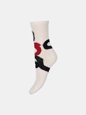 Hype The Detail - Fashion Socks, Rød Slange